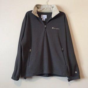 Champion Quarter Zip Fleece Jacket